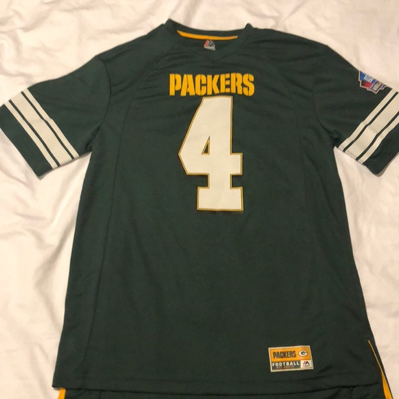 reputable site 0ebd7 26f2e Brett Favre - Green Bay Packers Jersey